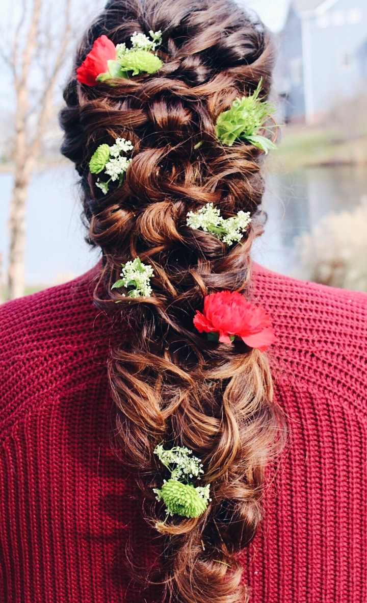 Fall/Winter Bridal Hair